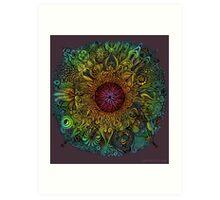 Mandala of Nieve Art Print