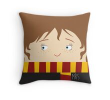 Hermione, harry potter Throw Pillow