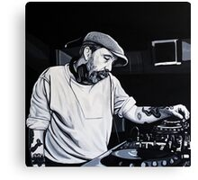 Andrew Weatherall Canvas Print