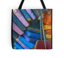 Colorful Floating Cork Tote Bag
