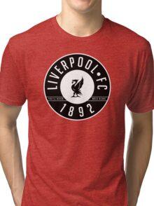 Liverpool FC - 1892 BLACK & WHITE Tri-blend T-Shirt