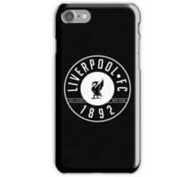 Liverpool FC - 1892 BLACK & WHITE iPhone Case/Skin