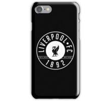 Liverpool FC - 1892 BLACK & WHITE iPhone Case/Skin