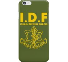 IDF Israel Defense Forces - with Symbol - ENG iPhone Case/Skin