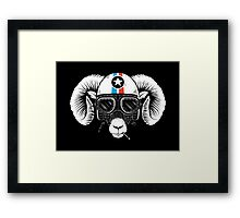 Prep Ramming Speed Framed Print