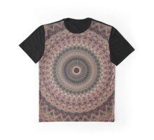 Detailed mandala in pale tones Graphic T-Shirt