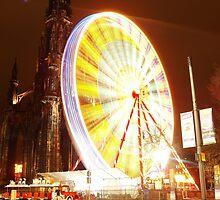 Festive Edinburgh by Lesleymc77