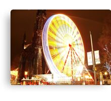 Festive Edinburgh Canvas Print