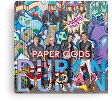 TOP COVER by DURAN DURAN paper gods Canvas Print