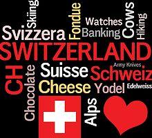I Love Switzerland by AntiqueImages