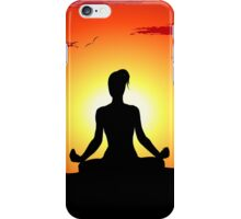 Female Yoga Meditating iPad Case / iPhone 5 Case / Samsung Galaxy Cases  / Pillow / Tote Bag / Duvet iPhone Case/Skin