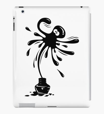 Ink Splatter iPad Case/Skin