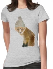 Indy Fox Womens Fitted T-Shirt