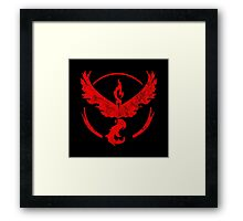 °GEEK° Team Valor Rust Logo Framed Print