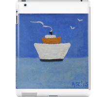 Premier bateau iPad Case/Skin