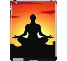 Male Yoga Meditating iPhone 5  Case /  iPad  Case / Samsung / Pillow / Tote Bag Galaxy Cases  / Duvet iPad Case/Skin