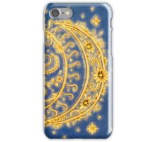 Celestial Bodies - Sun and Moon iPhone Case/Skin