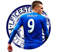 Blue Vardy Photographic Print