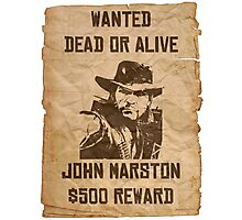 John Marston Dead or Alive Photographic Print