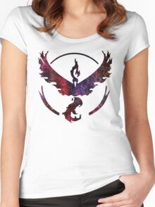 °GEEK° Team Valor Space  Women's Fitted Scoop T-Shirt