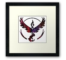 °GEEK° Team Valor Space  Framed Print
