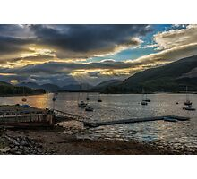 Glencoe and Ballachulish - Loch Leven Photographic Print