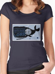 Jonah & the Big Fish Women's Fitted Scoop T-Shirt
