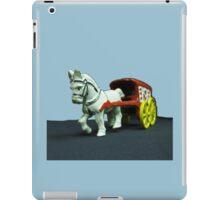 Toy Horse Drawn Ice Wagon iPad Case/Skin