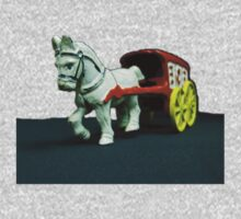 Toy Horse Drawn Ice Wagon Kids Tee