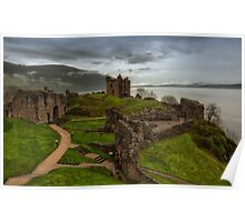 Urquhart Castle on Loch Ness Poster