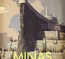 Minas Tirith by sdbros