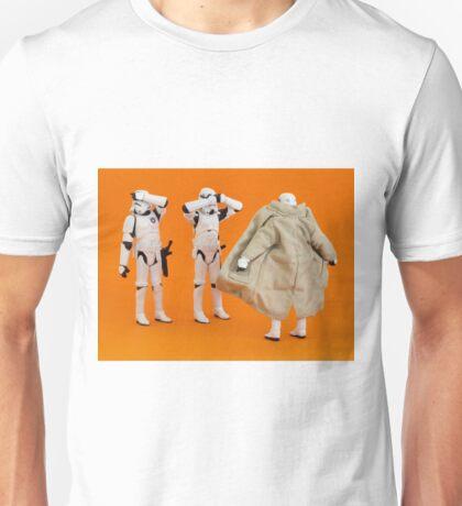The Flasher Strikes! Unisex T-Shirt