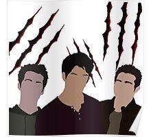 Trio Claw Poster