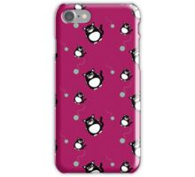 Cat with ball of wool   iPhone Case/Skin