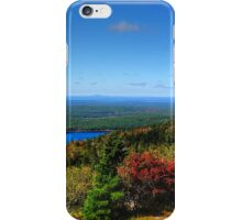 Touch Of Fall On Eagle Lake iPhone Case/Skin