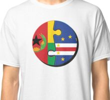 Cape Verdean Flag Transition  Classic T-Shirt