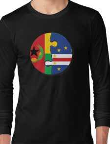 Cape Verdean Flag Transition  Long Sleeve T-Shirt