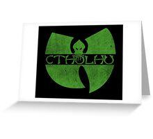 Wu-Tang Clan Cthulhu Greeting Card