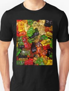 cute colorful sweet candy gummy bear  Unisex T-Shirt