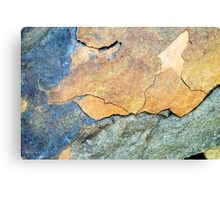 Abstract Rock Canvas Print