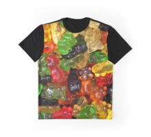 cute colorful sweet candy gummy bear  Graphic T-Shirt