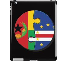 Cape Verdean Flag Transition  iPad Case/Skin