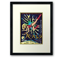 barbarella japanese Framed Print