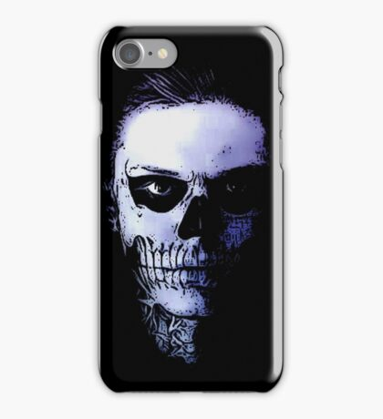 AHS skull edit iPhone Case/Skin