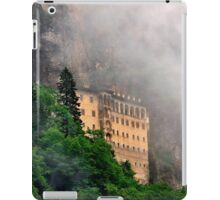 Sumela monastery in the clouds iPad Case/Skin