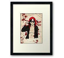 Jason Todd - Red Hood Framed Print