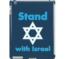 Stand with Israel iPad Case/Skin