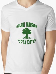 Israel Defense Forces - Golani Warrior Mens V-Neck T-Shirt