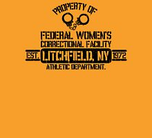Orange is the New Black - Litchfield, NY Womens Fitted T-Shirt