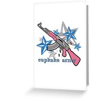 Cupkake Army AK Logo Greeting Card